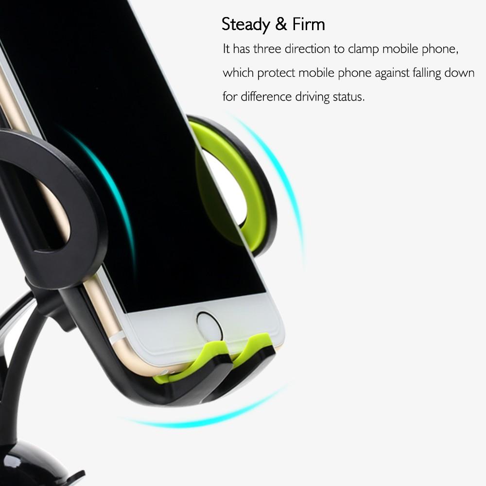 Rock Car Mobile Phone Holder Stand Adjustable Support 6 0
