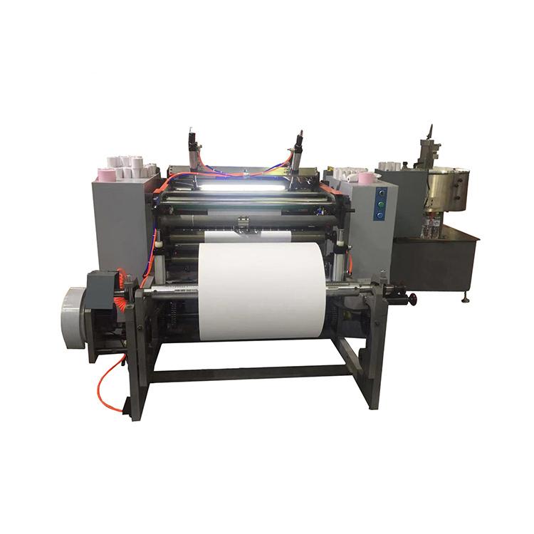 4kw High Quality Automatic Paper Roll Slitting Slitter Rewinder Machine