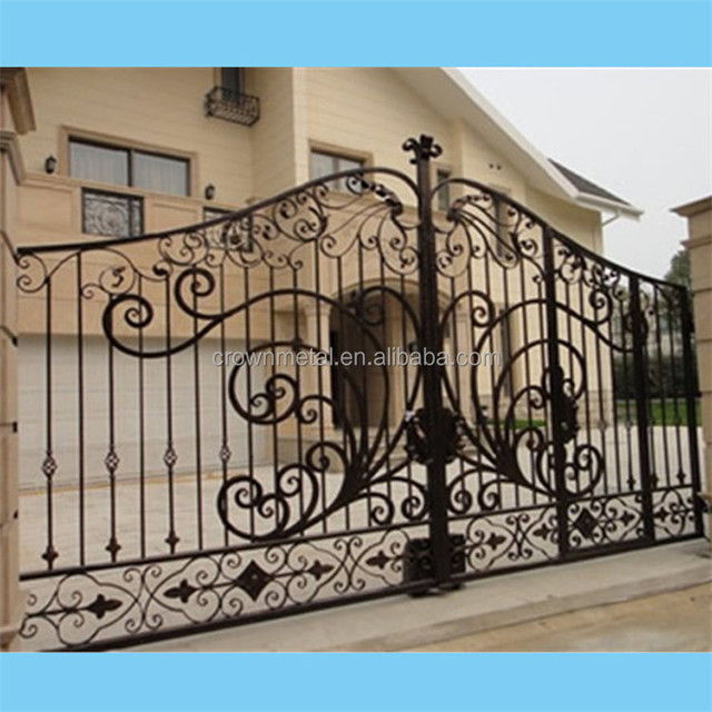 R0129 High Quality Wholesale Main Entrance Gate For Home Design
