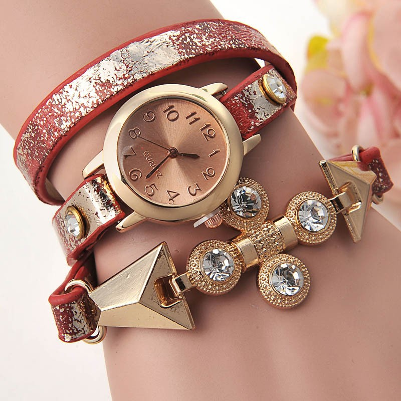 Wholesale Cheap Watches In Bulk Gold Metal Leather ...