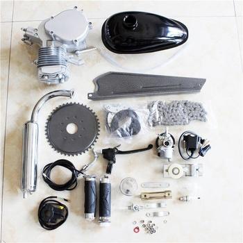 80cc 2 Stroke Bicycle Gasoline Engine Motor Kit Diy Motorized Bike