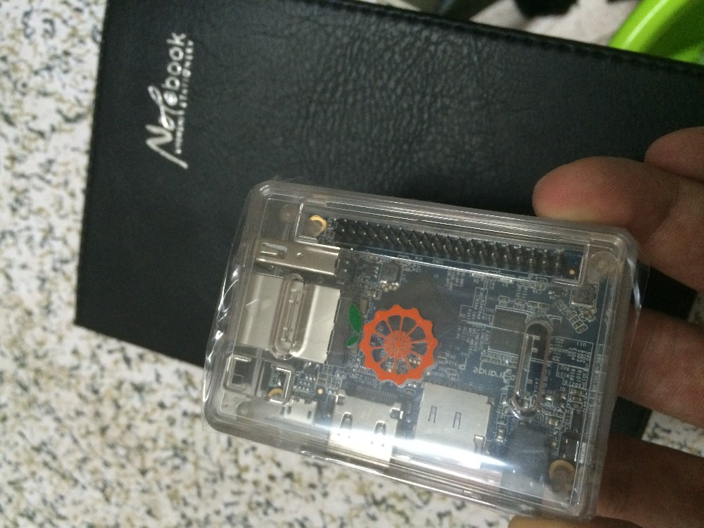 orange pi one with plastic case 512MB DDR3 open source