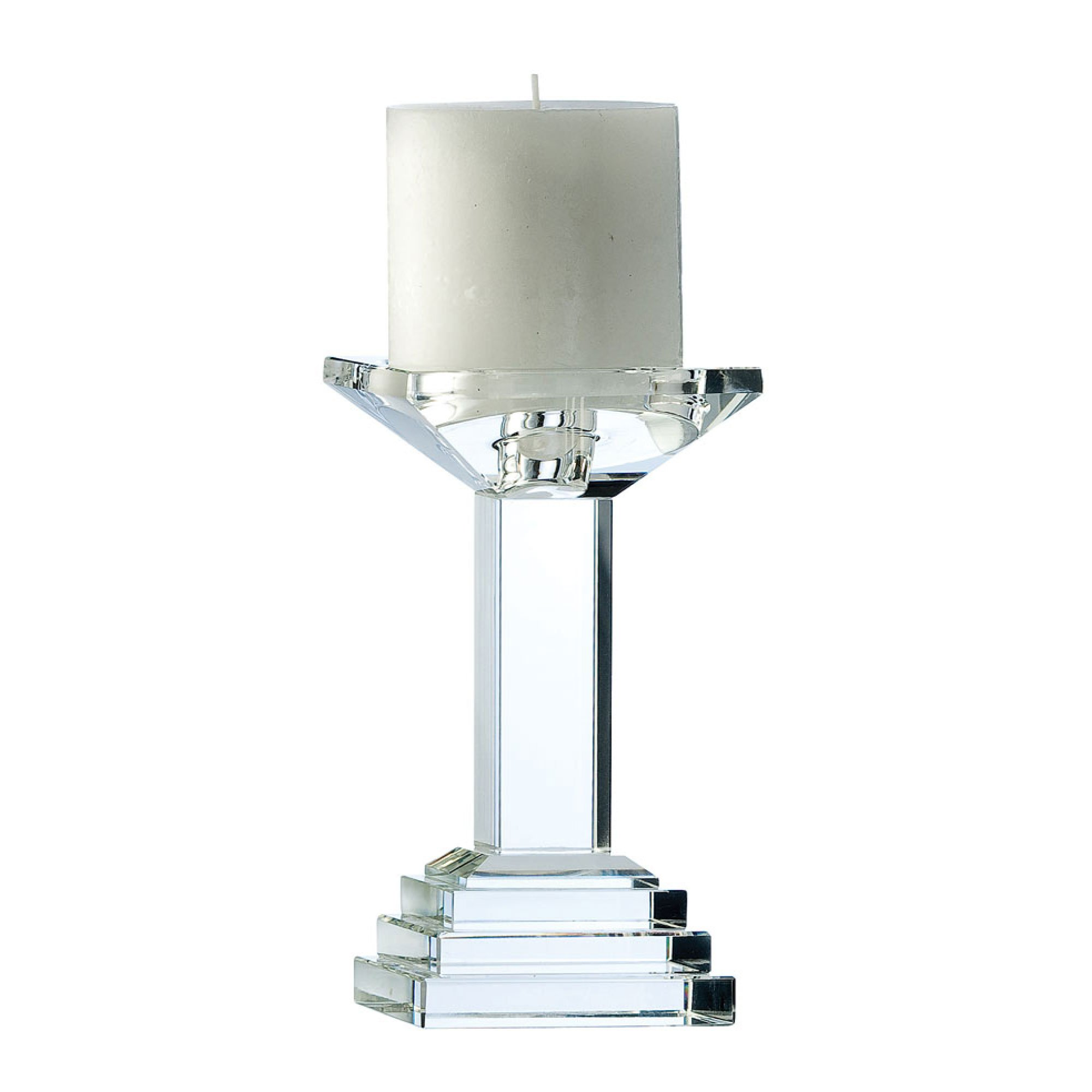 Galway Paris 7-Inch Candleholder