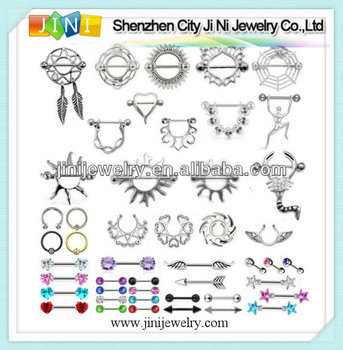 Tepel stretching sieraden piercing buy product on for Pierced nipple stretching jewelry