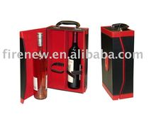 High Quality Luxurious Leather Wine Carrier Wine Box (NEW)