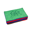 Custom cleaning cloth microfiber promotional hand towel with logo