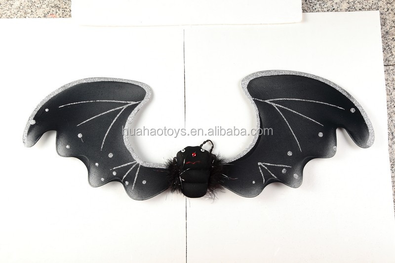 2016 new design round bat fairy wings wholesale carnival favor