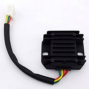 TC-Motor 12V 4 Wires Voltage Regulator Rectifier For Chinese 150cc 200cc 250cc Engine ATV Quad Pit Dirt Bike GY6 Moped Scooter