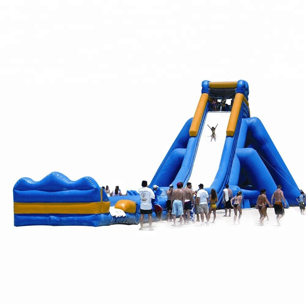 Summer Kids Games Adult size water slide inflatable water slide with blower