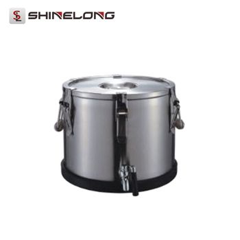 K592 Tabletop Stainless Steel Tea Transfering And Warming Barrel