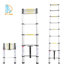 Telescopic double sided step ladder EN131/SGS/CE