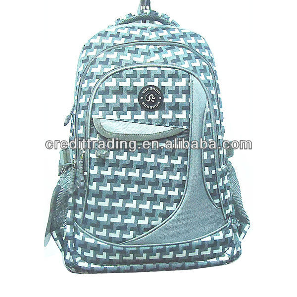 KPBB-28 2013 Fashion 600D Leisure Rucksack backpack bags for teenagers