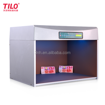 P60+ d65 tl84 cwf uv f tl83 color matching light box for Textile, Dyeing, Packaging, Printing, Lether etc