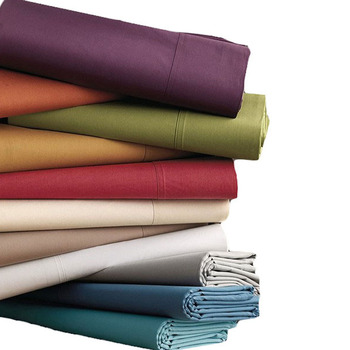 T200 - T240 CVC percale fabric for hotel bed sananas linen bleached fabric packing by roll