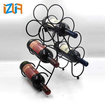 40 Bottles Metal Wire Decorative Wine Bottle Holders For Home Pub Awesome Decorative Wine Bottle Holders