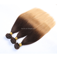 Top quality hot sale Brazilian virgin ombre straight hair 3 tone hair