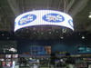 P7.62mm SMD indoor full color circle LED display screen