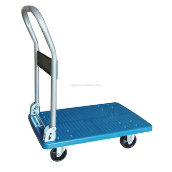 200kg load capacity foldable platform folding cart hand trolley