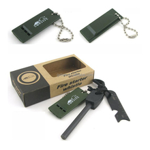 New Arrival Survival Fire Making Kit Flint Fire Starter Camping Flint for outdoor cooking