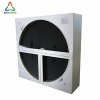 Eurovent certified commercial air to air enthalpy heat recovery wheel rotary heat exchanger