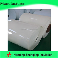 PET film lamination as dry transformer layer insulation material
