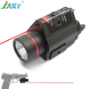 Jaxy Tactical Pistol Rifle Red Laser Sight with 350 Lumen LED Flashlight Built in RIS Rail Mounts