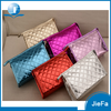china factory of folding shiny PU leather mirror cosmetic makeup beauty bags
