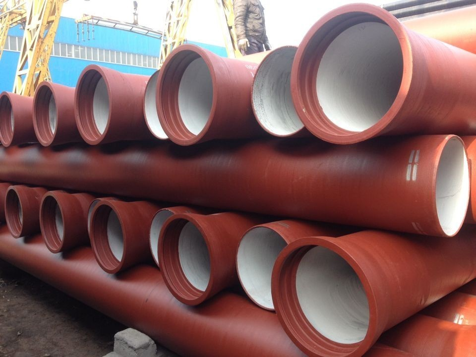 Qatar ductile cast iron pipes iso seamless black