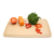 custom function blank flexible pizza cheese bread vegetable kitchen organic rice husk cutting board with mini animal shaped