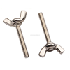 high quality stainless steel DIN316 folding wing nut screw