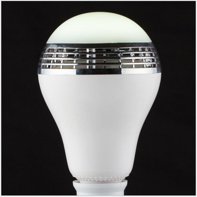 E27 Bluetooth Control Smart Wireless Music Audio Android IOS App RGB Colorful Speaker wifi LED Bulb Light