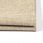 100% polyester linen look fabric hemp denim fabric supplier woven plain dyed embroidery sheer curtain fabric