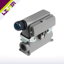 WZUMER HE 24 Pins Male Female Side Entry Heavy Duty Connector For Machinery Equipment