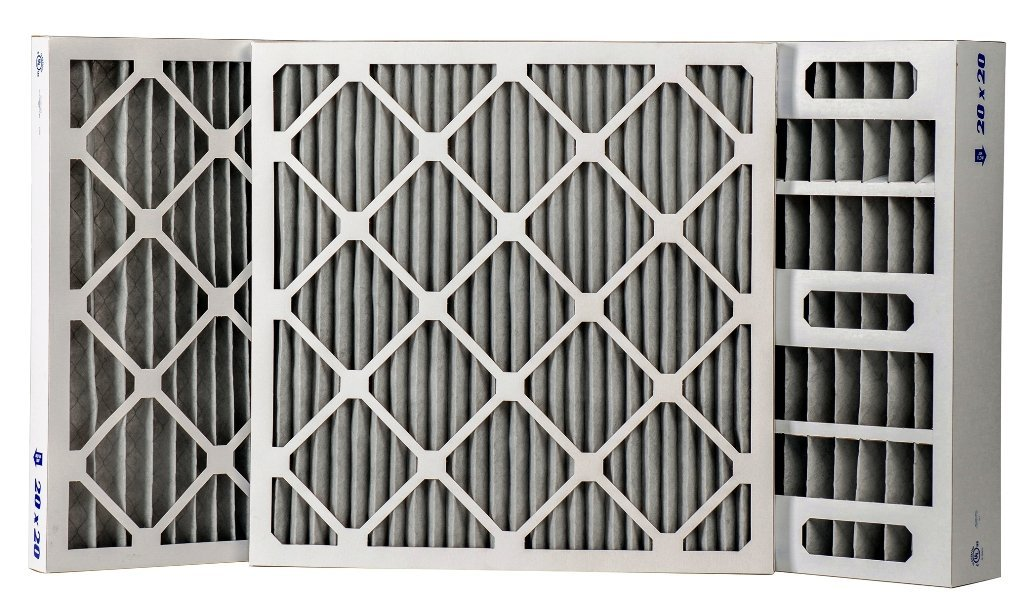 """Odor Control Charcoal Pleated Air Filter 1"""" or 2"""" (12 PACK) 4"""" (6 PACK) (6, 24x24x4)"""
