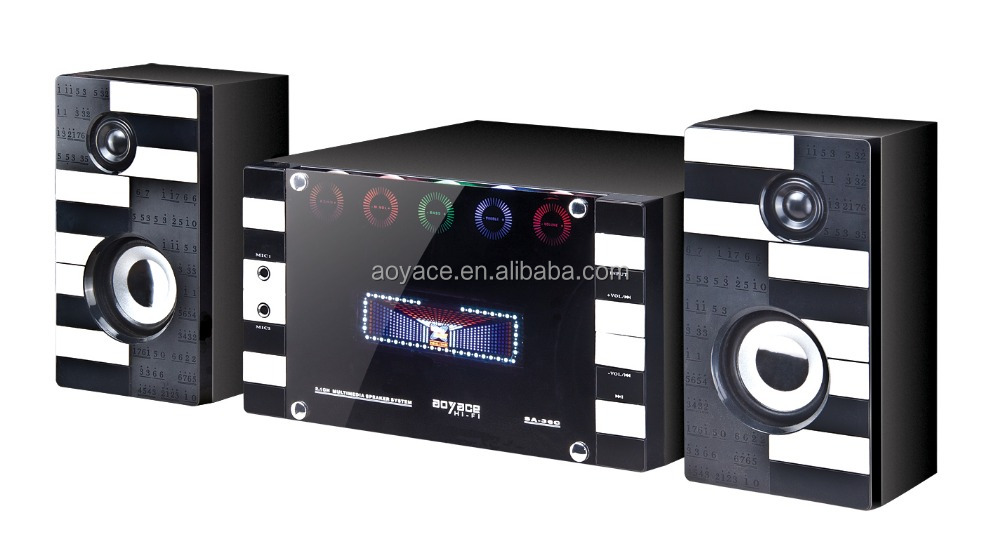 2.1 Digital Video Player Speaker With Remote Control