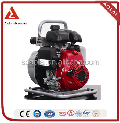Double output Fire Fighting Hydraulic Motor Pump with Lukas coupler Honda gasoline pump for rescue