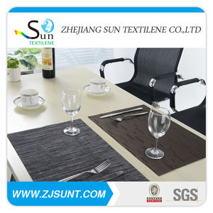 New product pvc rubber placemats and coaster rubber