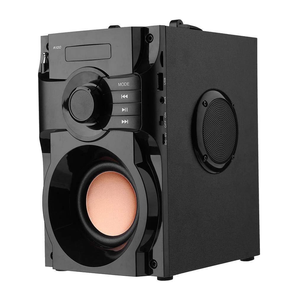 FidgetFidget Speaker Sound Box Bass Bluetooth Speaker 2.1 Stereo Subwoofer Music HiFi AUX Mp3