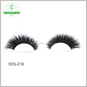 LASHES 3D MINK REAL HUMAN HAIR FALSE EYELASHES STRIP LASHES UK SALE