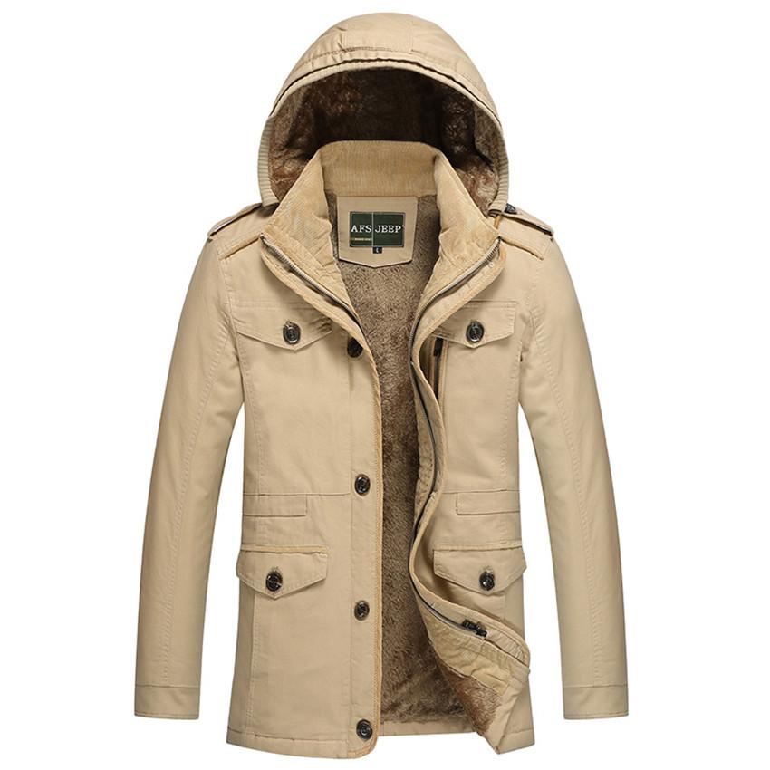 2015 Men Autumn Thick Jacket Windbreaker New Korean