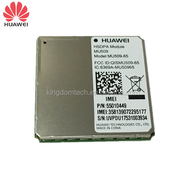 High-quality designed MU509-65 HUAWEI HSDPA 3G module based on Qualcomm chipset in small size and standard LGA form factor