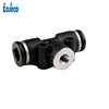6MM coupling with female thread 10/24''. Pneumatic slip lock nozzle base.Quick connector. for hydro-pnuematic technology