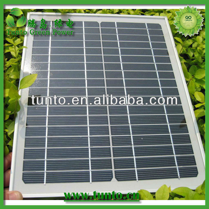 Best quality 10W Poly portable solar panel manufacturer