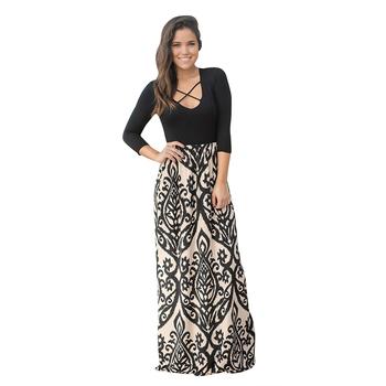 3dfcbd8657ff New Style Woman Summer Maxi Dress African Fancy Dress Designs ...