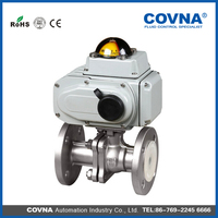 1 inch 2 inch 3 inch Stainless Steel electric ball valve price /Motorize ball valve dn15 dn20 dn25