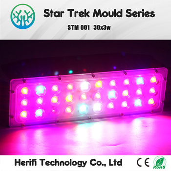 Mini small 3w chips 90w LED grow lights for Growing tents flowers and Lettuce Mini home garden grow light