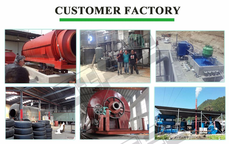 New design fuel oil refinery equipment tyre pyrolysis plant tyre recycling plant cost