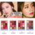 Fashion Design Colorful Bright Charming Highlighter Makeup EyeShadow Palette for Beginner Girl