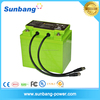Customized 12V 100Ah LiFePO4 Battery Pack for RV Car Solar storage