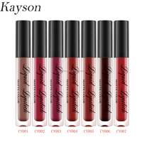 Wholesale price No logo custom cosmetic packaging matte natural waterproof make you own lipstick